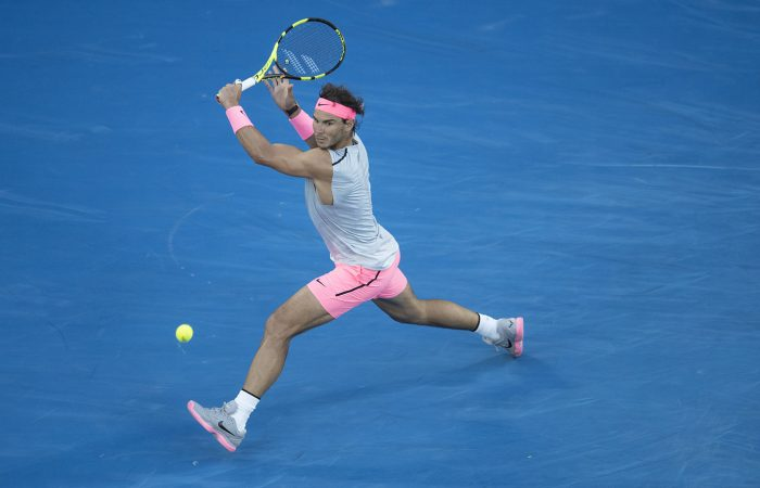 CHAMPION: Former world No.1 Rafael Nadal in action at Australian Open 2018; Getty Images