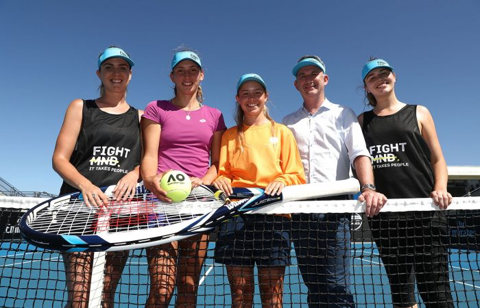 SHOWING SUPPORT: The Hobart International will raise money for FightMND during their 2019 tournament; Getty Images
