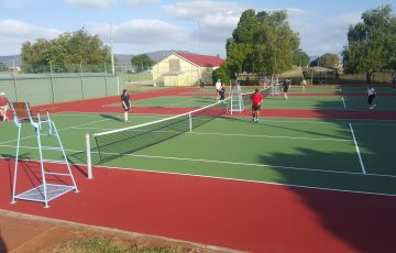Scottsdale Tennis Club in the state's north-east region has installed Book a Court.
