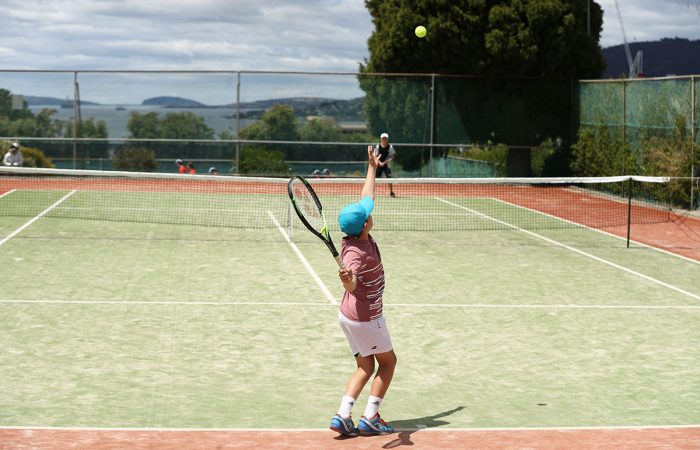 Junior tennis action. Picture: Getty Images