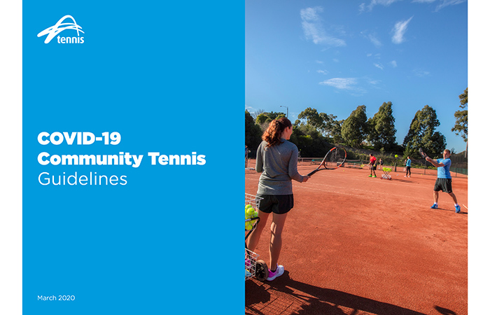 Tennis Victoria's updated Community guidelines for continued play