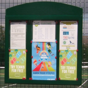 Return to Tennis Poster for Clubs