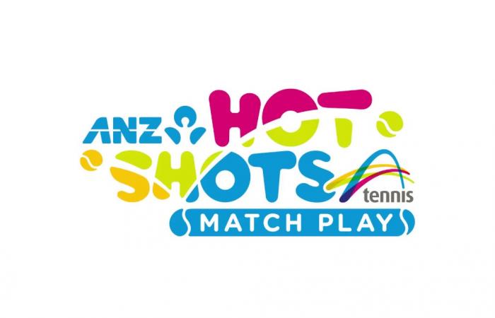 ANZ Tennis Hot Shots Match Play Logo