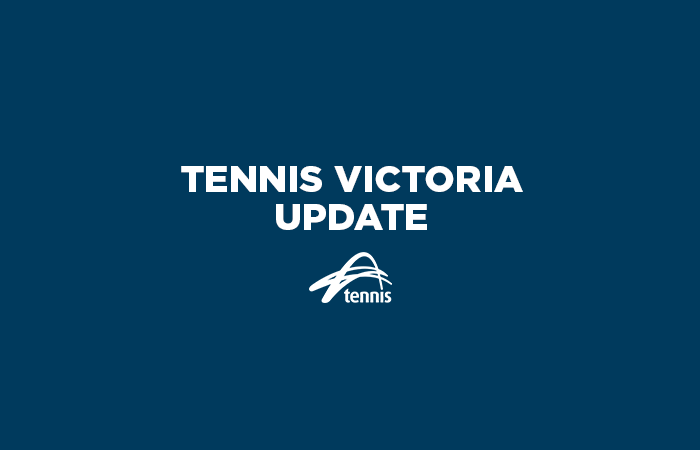 Tennis Victoria Update_Navy
