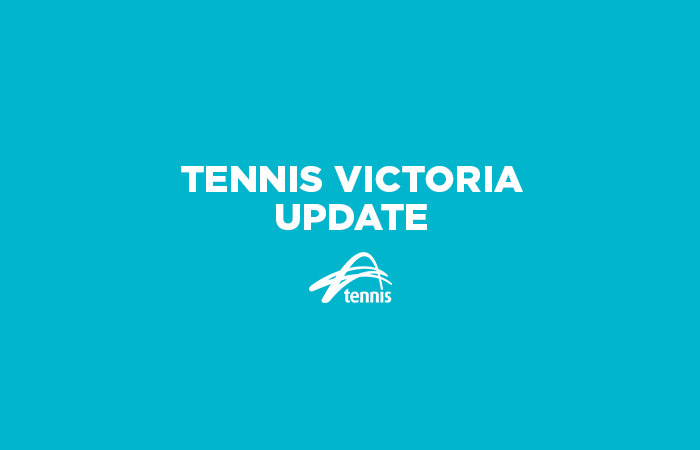 Tennis Victoria Update_Turquoise