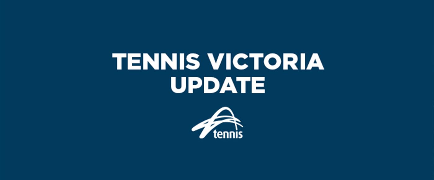 Tennis Vic - Update