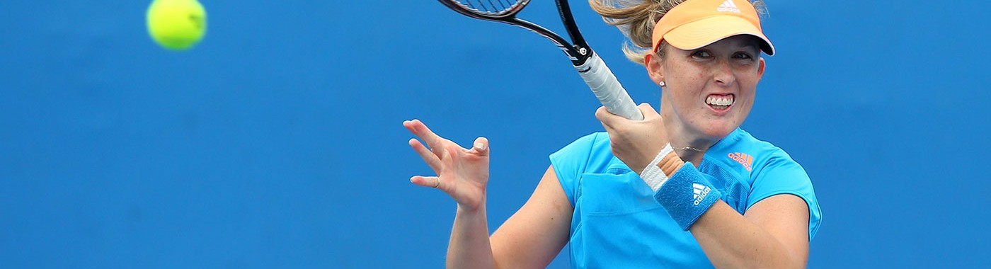Modern tennis rackets, balls, and surfaces