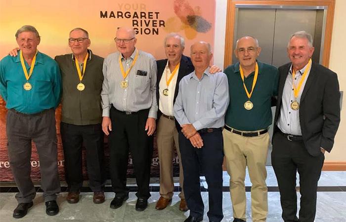Winning WA Men's 70s Team