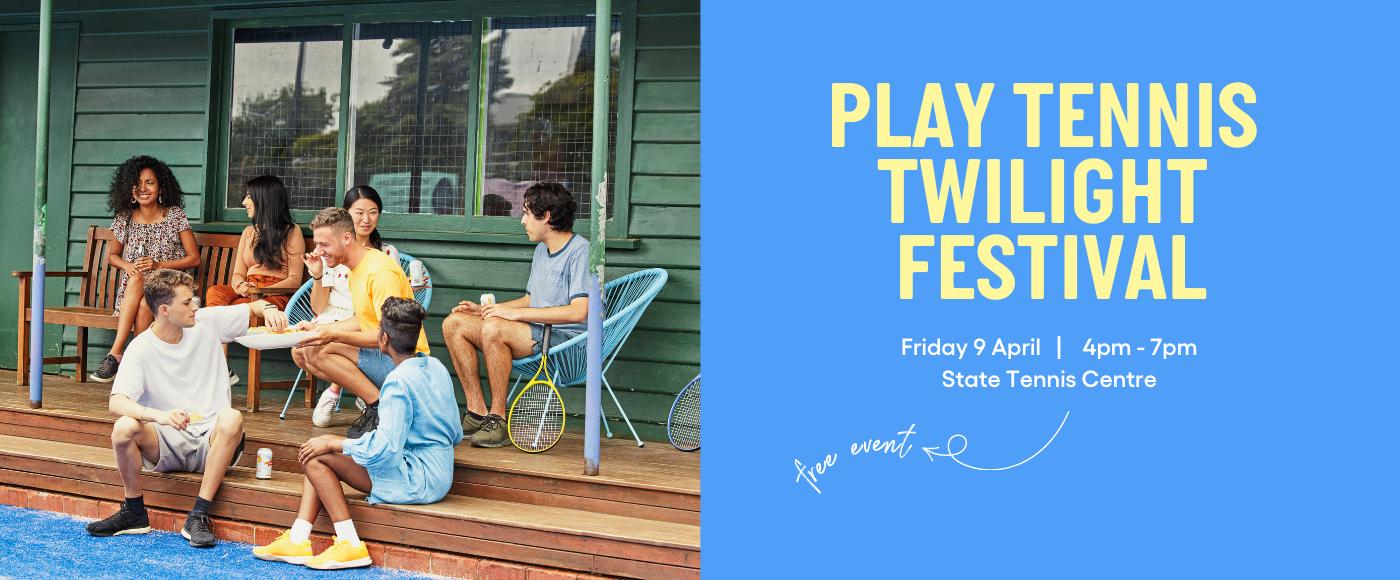 PLAY TENNIS TWILIGHT FESTIVAL Web Banner