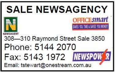 Sale newsagency