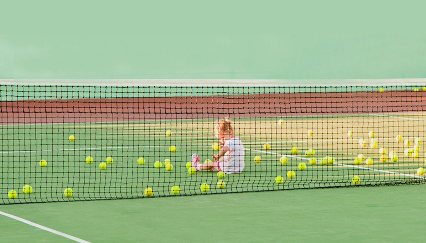 Tennis court image