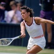 Evonne Goolagong Cawley, 1981. GETTY IMAGES