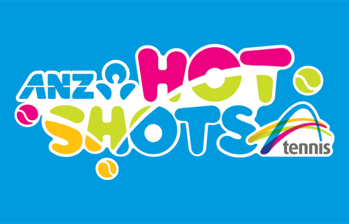 ANZ Tennis Hot Shots logo