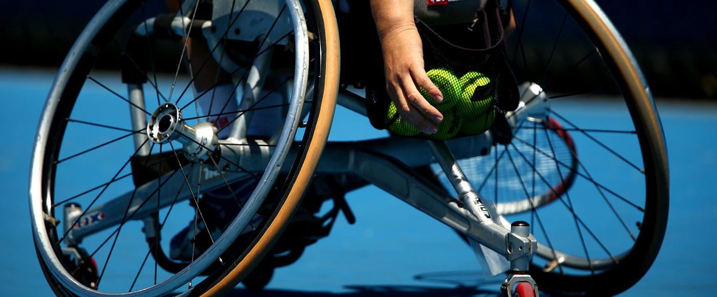 Shingo Kunieda, Australian Open 2014. GETTY IMAGES