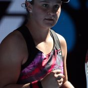 Ash Barty in action at Australian Open 2017; Getty Images