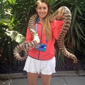 Sara Tomic, Australian Open, 2014, Melbourne.