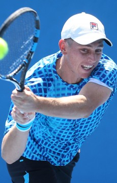 Andrew Whittington in action at Australian Open 2016; Getty Images