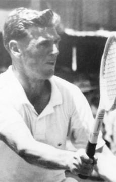 Frank Sedgman. Tennis Australia