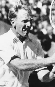 John Bromwich. Tennis Australia