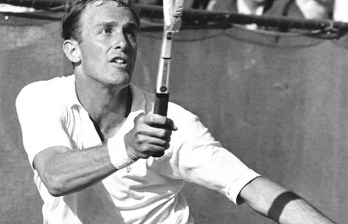 John Newcombe. Tennis Australia