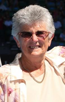 Judy Dalton, Australian Open, 2013. GETTY IMAGES