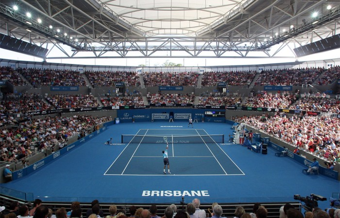 Semaine 1 - BRISBANE Pat_Rafter_Arena_Brisbane_100110-700x450