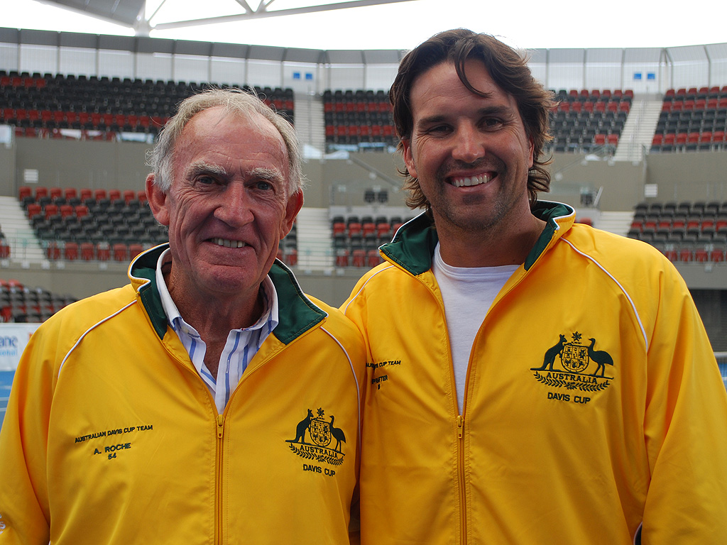 Rafter and Roche return to Davis Cup – 1 November 2010 All News