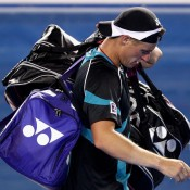 Hewitt was sent packing from Australian Open 2011 by David Nalbandian.