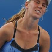 Olivia Rogowska was disappointed with her loss to Evgeniya Rodina.