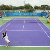 Centre court at the Caloundra Tennis Club. Photo: Rob Hamilton