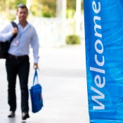 16th of March 2011. Delegates arrive at the Australian Tennis Conference. Tennis Australia.