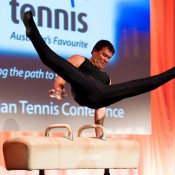 17th of March 2011. Brennon Dowrick at the Australian Tennis Conference. Tennis Australia.
