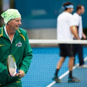 17th of March 2011. Hot Shots session at the Australian Tennis Conference. Tennis Australia.
