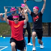 17th of March 2011. Cardio Tennis session at the Australian Tennis Conference. Tennis Australia.
