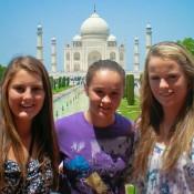 Brooke Rischbieth, Ashleigh Barty and Belinda Woolcock.