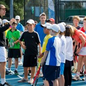 11th of April 2011. Athletes at the Junior Performance Camp. Mark Riedy.