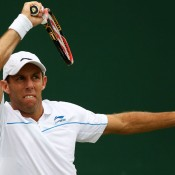 Doubles specialist Paul Hanley is through to the third round of the doubles with partner Simon Aspelin and the second round of the mixed with Su-Wei Hsieh. GETTY IMAGES