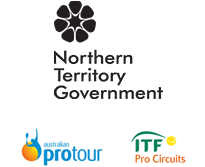 Darwin tennis international logos