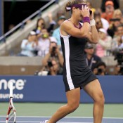 Stosur wins match point.