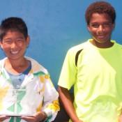Chase Ferguson (left) and Nathanael Consalvo. MICHAEL ROCHE