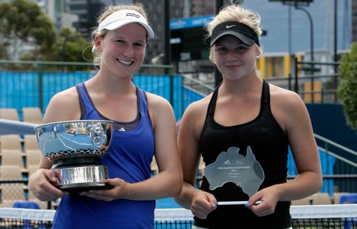 Eliza Long and Brigette Beck, Melbourne, 2011. MATTHEW WREN