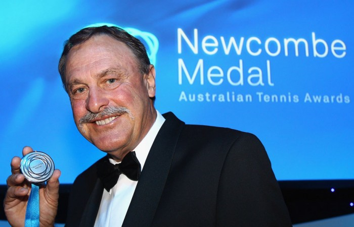 John Newcombe. GETTY IMAGES