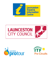 Launceston tennis international sponsors