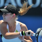 Jelena Dokic was a popular winner on day 2 when she defeated former top five Russian Anna Chakvetadze. AFP