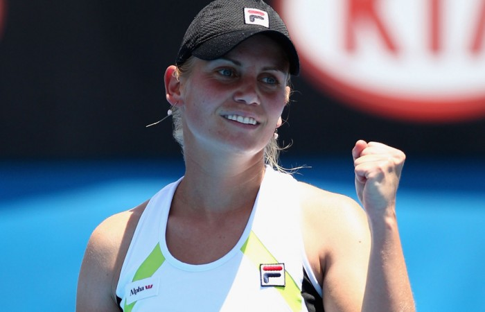 Jelena Dokic, Melbourne, 2012. GETTY IMAGES
