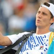 Matt Ebden was a first-round straight-sets winner over Joao Souza. AFP