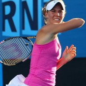Olivia Rogowska chalked up her first win at a major. GETTY IMAGES