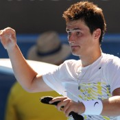 Bernard Tomic pulled off a remarkable come-from-behind win over Fernando Verdasco. AFP