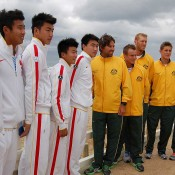 Australia v China Davis Cup ceremony: Tennis Australia