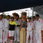 The Chinese Davis Cup squad